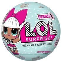 Kit bola lol surprise + 2 bonequinhas com cabelo - Loll