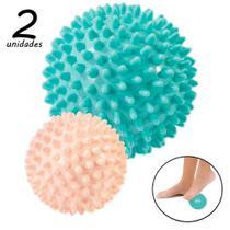 Kit Bolas Massageadoras com 2 Unidades Cravos Relax Ball  Liveup -