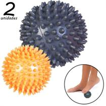 Kit Bolas Massageadoras Cravos Relax Ball com 2 Unidades  liveup