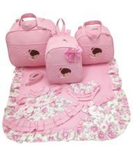 Kit bolsa maternidade 3 p bailarina + saida maternidade - Let Baby Bolsas De Maternidade