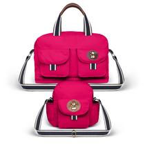 Kit Bolsa Maternidade Ibiza e Frasqueira Toulon Pink - Classic for Bags - Classic for baby bags
