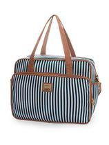 Kit Bolsa maternidade Lollipop Azul 3 Pçs mala, mochila e bolsa M - Hug -