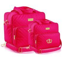 Kit Bolsa Maternidade Plike Baby Pink PK72 -