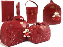 kit bolsa maternidade unissex luxo 5 peças - Mk Baby