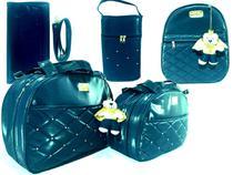 kit bolsa saída maternidade 5 pçs - Mk Baby