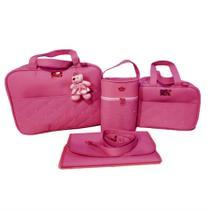 Kit Bolsas de Maternidade Bebê Térmica Tipo Mala Menino Menina - Mk Baby