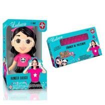 Kit Boneca Luluca + Fábrica de Pulseiras Luluca da Estrela -