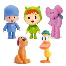 Kit boneco de vinil pocoyo e sua turma - Cardoso Toys