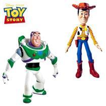 Kit boneco Woody + Boneco Buzz Lughtdear VINIL - Lider
