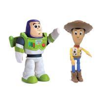 Kit Boneco Woody e Buz Lightyear Toy Story Fala Frases Elka - Elka Brinquedos