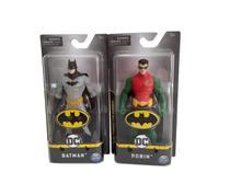 Kit Bonecos Batman E Robin 15 Cm Originais Sunny 2187 - Sunny Brinquedos