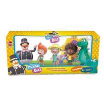 Kit bonecos em  vinil familia mundo bita com 5 personagens - Lider