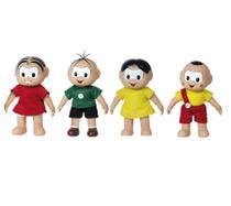 Kit bonecos turma da monica - classico - 4 peças - Baby Brink E Brinquedos Rosita