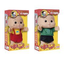 Kit bonecos turma da monica - iti malia - 2 peças - Baby Brink E Brinquedos Rosita