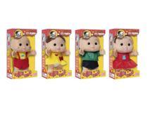 Kit bonecos turma da monica - iti malia - 4 peças - Baby Brink E Brinquedos Rosita