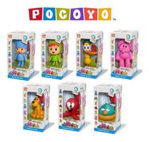 Kit Bonecos Turma do Pokoyo em Vinil Pokoyo Nina Pato Elly Loula Fred Sonequita Cardoso Toys -