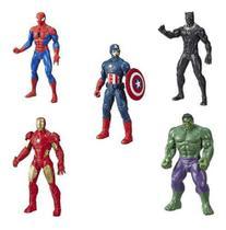Kit Bonecos Vingadores Marvel 25cm Original - Hasbro E5556 -