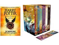 Kit Box Harry Potter + Livro - Harry Potter e a Criança Amaldiçoada J. K. Rowling