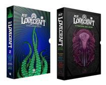 Kit Box Howard Phillips Lovecraft Os Melhores Contos Parte 2 & Box O Panteão dos Mitos - Pandorga