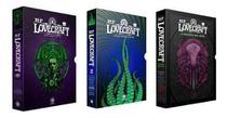 Kit Box Howard Phillips Lovecraft: Os Melhores Contos Partes 1 e 2 & Box Howard Phillips Lovecraft: O Panteão dos Mitos - Pandorga