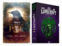 Kit Box Obras de Edgar Allan Poe: Histórias Extraordinárias & Lovecraft: os melhores contos parte 1 - Pandorga