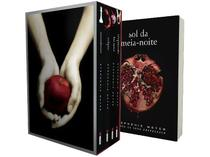 Kit Box Série Crepúsculo + Livro Sol da Meia-Noite - Stephenie Meyer