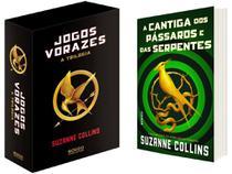 Kit Box Trilogia Jogos Vorazes + Livro A Cantiga - dos Pássaros e das Serpentes