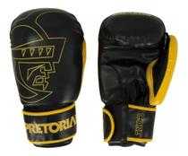 Kit Boxe e Muay Thai Pretorian First - Luva + Bandagem + Protetor Bucal -