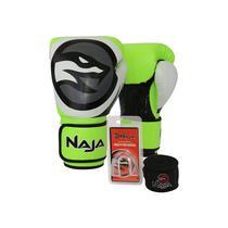 3d816d17c Kit boxe muay thai naja colors bandagem bucal verde