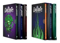 Kit Boxes Howard Phillips Lovecraft: Os Melhores Contos Partes 1  e 2 Capa Comum - Pandorga