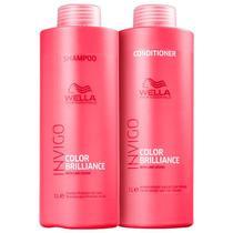 Kit Brilliance Shampoo e Condicionador - Wella Professionals -