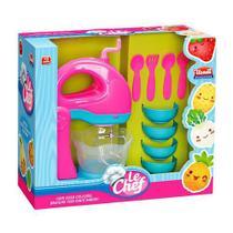 Kit Brinquedo Batedeira Le Chef Usual Brinquedos -