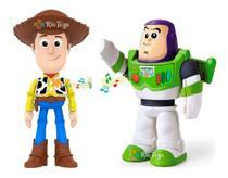 Kit Brinquedo Com Buzz Lightyer E Woody Toy Story Novo - Elka