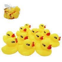 Kit Brinquedo De Vinil Hora Do Banho Patinhos 12 UN - Toys King
