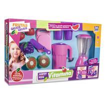 Kit brinquedo happy kids vitamina com frutinhas 9 pecas - Zuca Toys