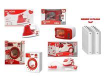 Kit Brinquedo Infantil Feminino My Home Com Luz e Som - Toystoys