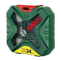 Kit brocas bosch x-line 34 pc