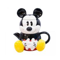 Kit Bule E Caneca Formato Mickey Disney Original 720ml Top - Drina