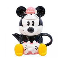 Kit Bule E Caneca Formato Minnie Disney Original 720ml - Drina