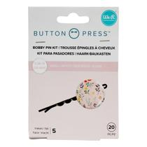 Kit Button Grampos WeR Memory Keepers Button Press Backers Makes 20 Peças - 661075 - WE R MEMORY
