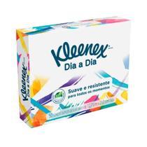 Kit C/04 caixas Lenço Kleenex Com 50 Folhas -