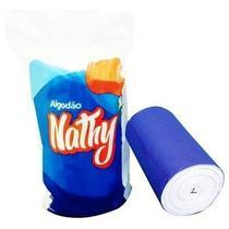 kit c/ 06 unidades de Rolo De Algodão Hidrófilo 500g - Nathalya Nathy -