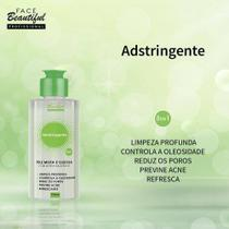 Kit c/ 06unidades adstringente pele mista á oleosa facial- face beautiful - Facebeautiful