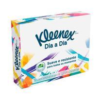 Kit C/08 caixas Lenço Kleenex Com 50 Folhas -