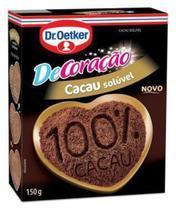Kit c/ 09un Cacau em Pó 100% - l 150g - Dr. Oetker -
