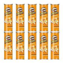 Kit C/10 Batatas Pringles 120g - Sabor Queijo 120g -