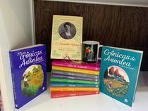 Kit c/ 10 livros da série Anne de Green Gables+autobiografia Lucy Montegomery+Caneca estampada - Loja Das Princesas