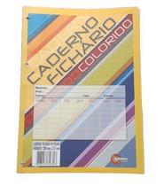 KIt c/ 10 Refil de Fichário 96 Folhas Colorido - 107021-10 - Maxima