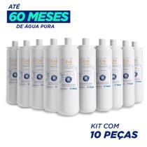 Kit c/ 10 refil girou trocou c+3  filtro purificador de agua bacteriologico ibbl  (original) -