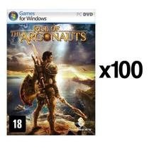Kit C/ 100 Jogos p/ PC Rise of the Argonauts DVD Original Mídia Física - Codemasters